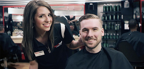 Sport Clips Haircuts of Fort Union​ stylist hair cut